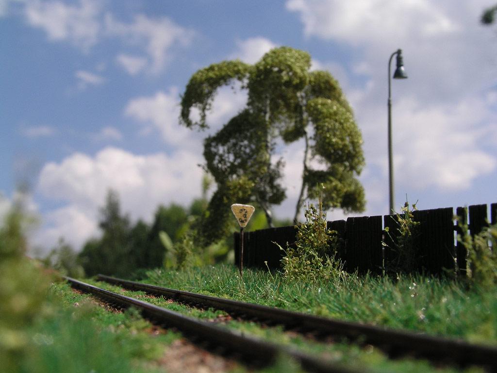 Foliáž Model Scene - diorama Michala Bednáře