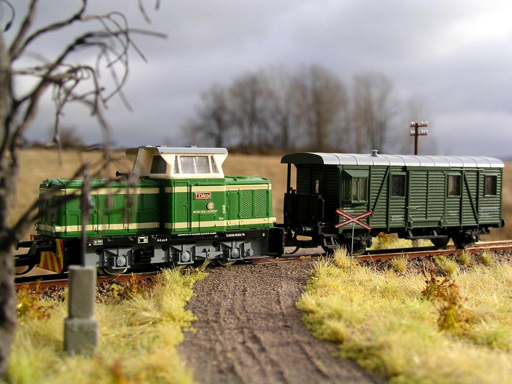 Travní foliáž Model Scene F533 - diorama Michala Bednáře